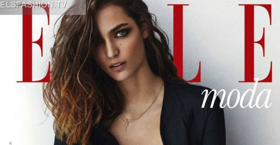 Elle Spain Aug 2015 - Model Zuzanna Bijoch