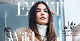 The Edit August 2015 - Model Lily Aldridge